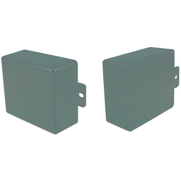 Strapubox Kunststoff-Gehäuse mit Lasche CO 4 ABS 70 x 60 x 30 mm, schwarz