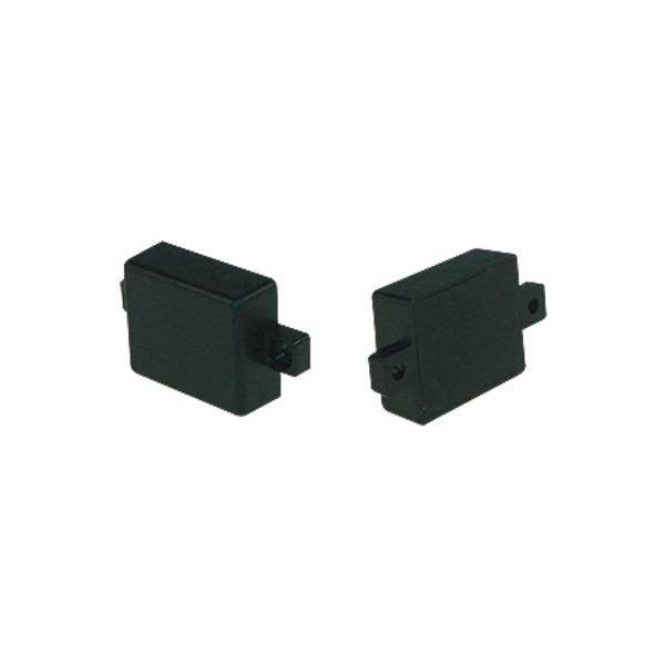 Strapubox Kunststoff-Gehäuse mit Lasche MG23 ABS 28 x 23 x 11 mm, grau