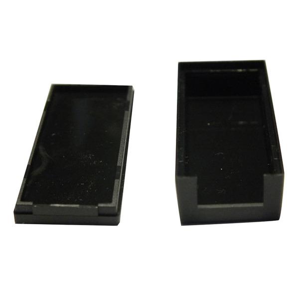 Strapubox Kunststoff-Gehäuse USB 1 ABS 56 x 20 x 12 mm, schwarz