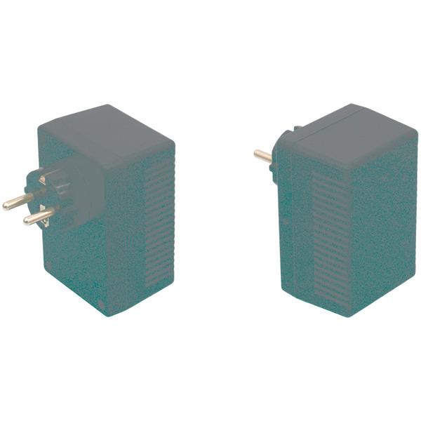 Strapubox Stecker-Gehäuse SG 921 ABS 95,5 x 63 x 49 mm, schwarz