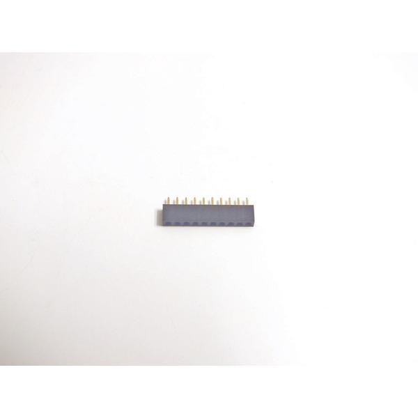 SMD-Buchsenleiste, 1x 10-polig, Körperhöhe 4,3 mm, gerade