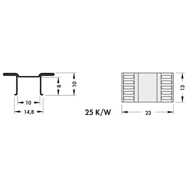 Fischer Elektronik Kühlkörper FK 244 13 D PAK für D PAK