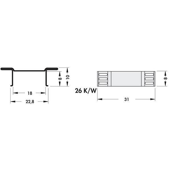 Fischer Elektronik Kühlkörper FK 244 08 D 3 PAK für D PAK