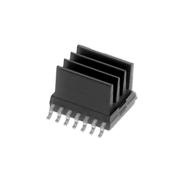 Fischer Elektronik SMD Kühlkörper ICK SMD A 5 SA gerade gerippt
