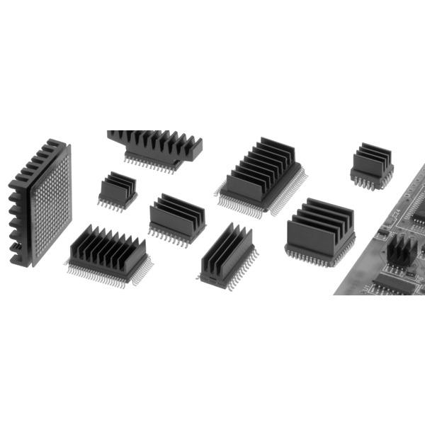 Fischer Elektronik SMD Kühlkörper ICK SMD B 10 SA quergerippt