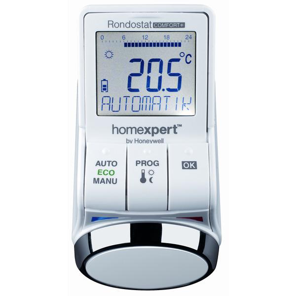 homexpert Rondostat Comfort+ HR30 Elektronischer Heizkörperthermostat