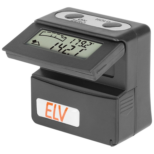 ELV 360°-Neigungssensor Bevel Box Pro, digitale Wasserwaage
