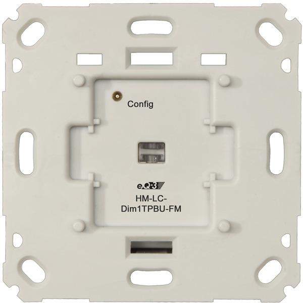 Homematic Funk-Dimmaktor 1fach für Markenschalter, Phasenabschnitt HM-LC-Dim1TPBU-FM