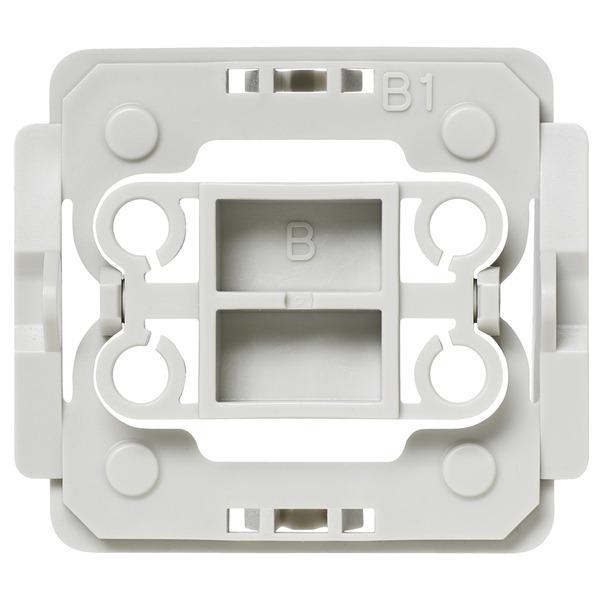 Installationsadapter für Berker-Schalter, B1, 3er-Set für Smart Home / Hausautomation