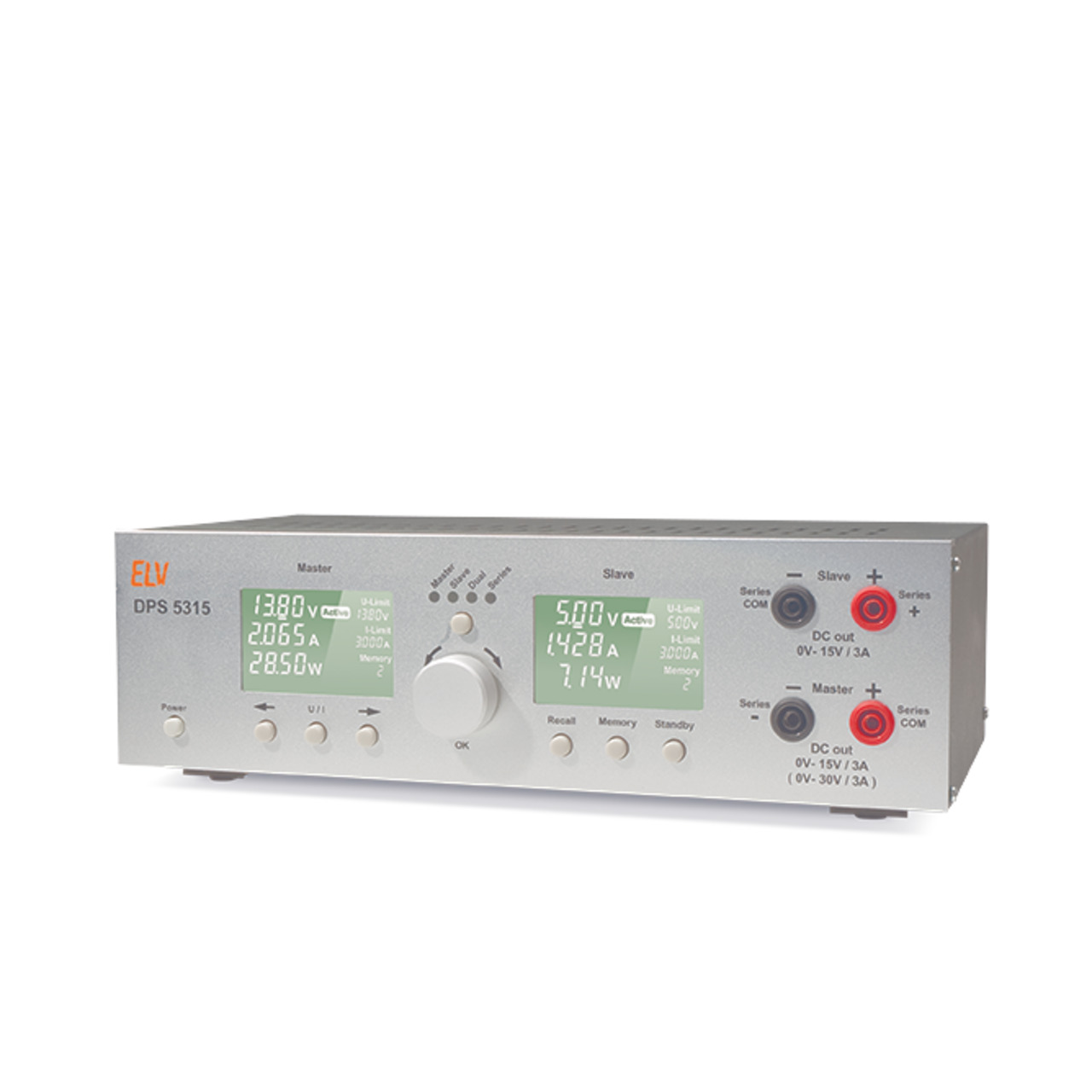 ELV Komplettbausatz Dual-Power-Supply DPS 5315