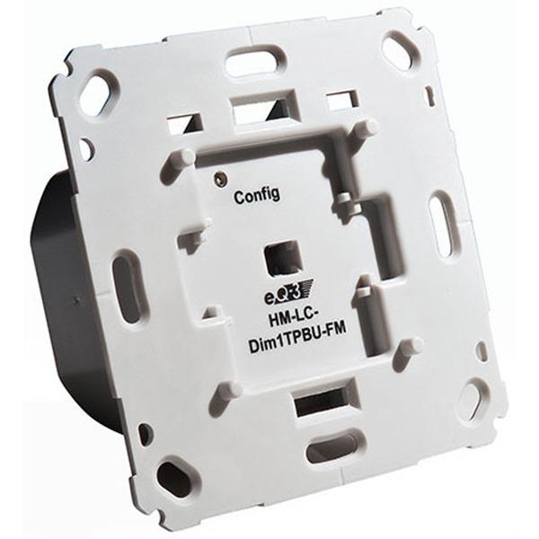 ELV Homematic Komplettbausatz Funk-Dimmaktor 1fach für Markenschalter HM-LC-Dim1TPBU-FM