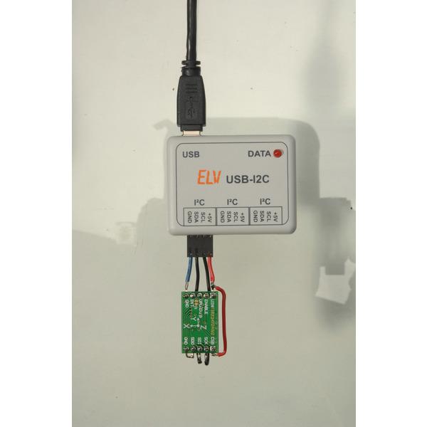 ELV 3-Achsen-Beschleunigungssensor 3D-BS