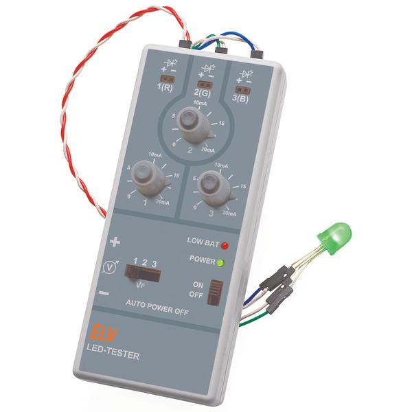 ELV Komplettbausatz LED-Tester LED-T1