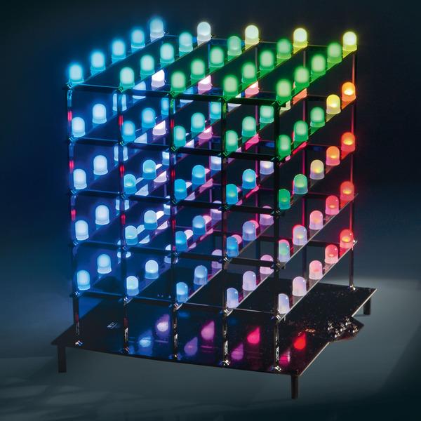 ELV Bausatz 5x5x5-RGB-Cube RGBC555, ohne LEDs