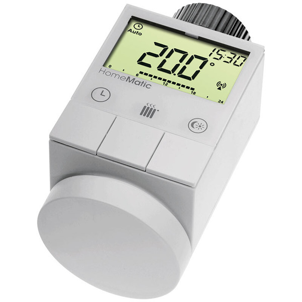 Homematic Funk-Heizkörperthermostat HM-CC-RT-DN für Smart Home / Hausautomation