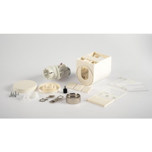 Leergehäuse und Antriebsmotor für Homematic Heizkörperthermostat HM-CC-RT-DN