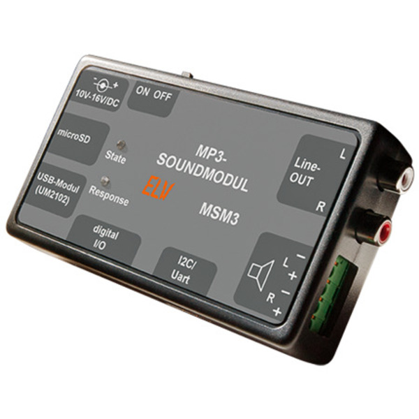 ELV Bausatz MP3-Soundmodul MSM3
