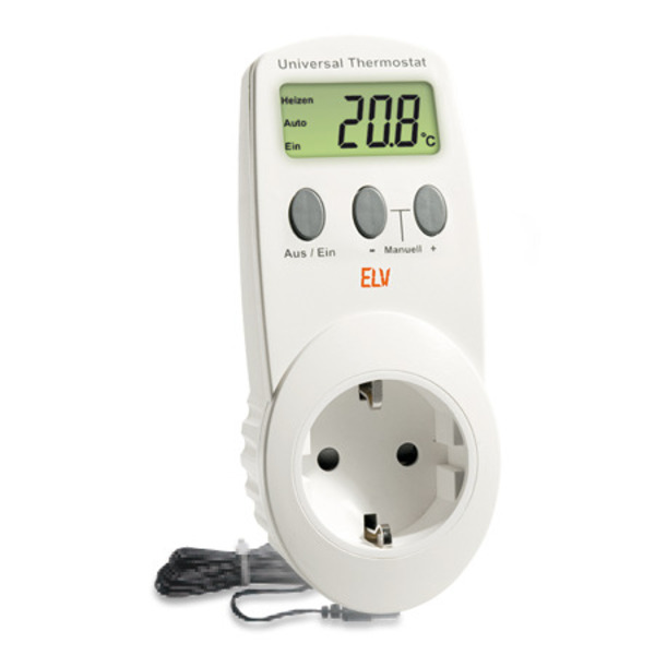 ELV Komplettbausatz Universal Thermostat UT 200-2