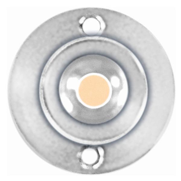 ledxon LED-Modul LEDxALUSTAR 60°, 1 W Edison, 350 mA, Warmweiß