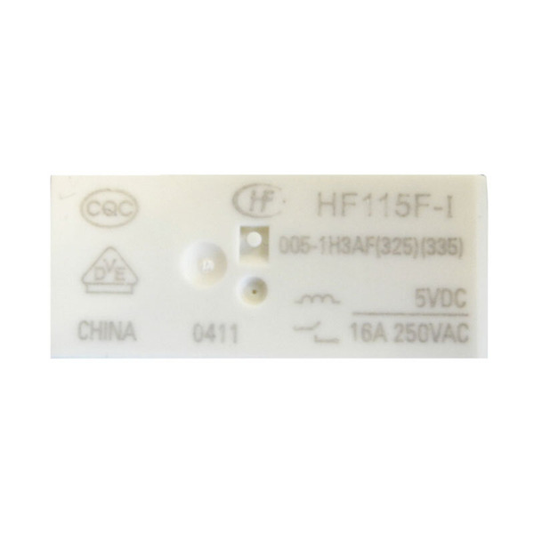 HONGFA Relais, 24 V, 1 Öffner-Schließer, HF-115F-I-024-1Z 3 A 610