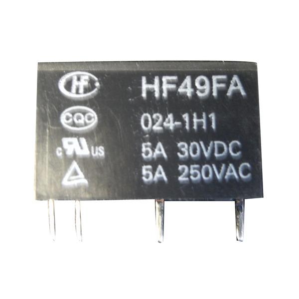 HONGFA Relais, 24 V, 1 Schließer, HF-49FA 024 1H 1 T 610