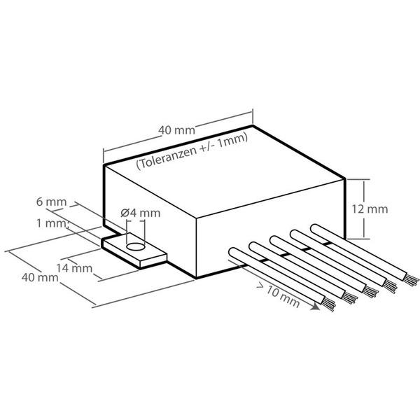 Kemo M031N 3,5-W-Universal-Verstärker