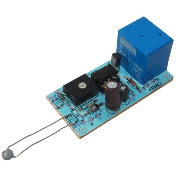 Kemo Komplettbausatz B048 12-V-Temperaturschalter