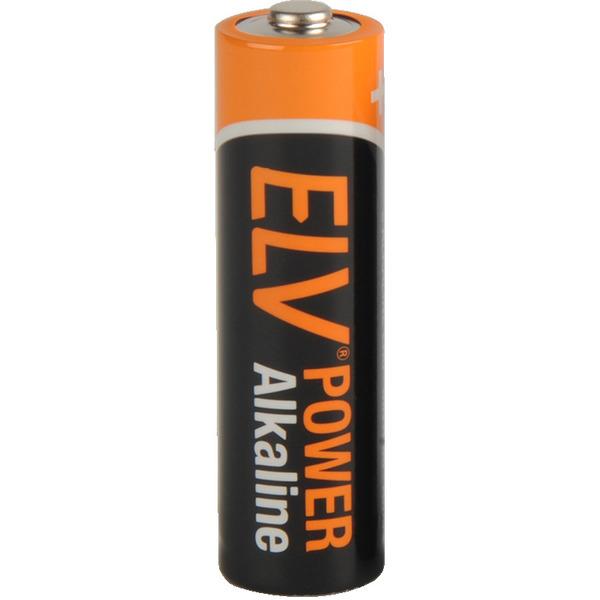 ELV POWER Alkaline Batterie Mignon AA, einzeln