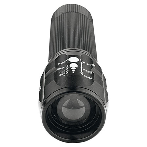 ELV TF120 Mini-LED-Taschenlampe mit Variofokus