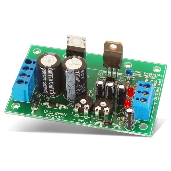 Velleman Bausatz K8042 Symmetrische 1-A-Stromversorgung