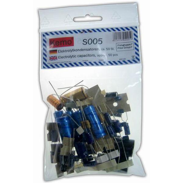 Kemo Elektrolytkondensator ca. 50 Stück S005