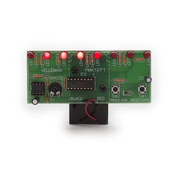 Velleman Bausatz MK107 Lauflicht mit LEDs
