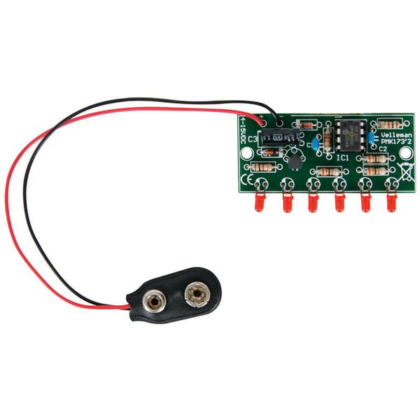 Velleman Bausatz MK173 Mini-6-LED-Chaser