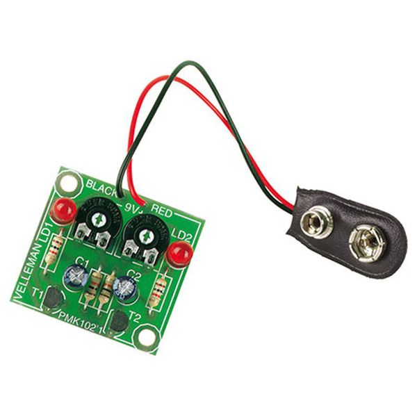 Velleman Bausatz Blinkende LEDs MK102