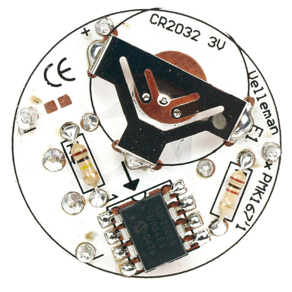 Velleman Bausatz Elektronisches Teelicht MK167