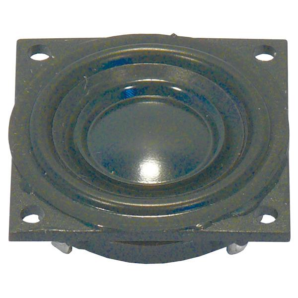 VISATON Kleinlautsprecher mit Kunststoffmembran und quadratischem Kunststoffkorb 2,3cm, K 23 SQ/8 Ω