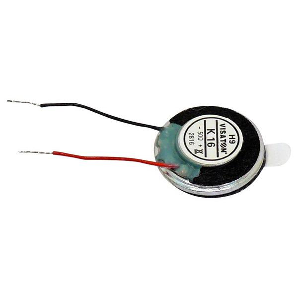 VISATON Miniaturlautsprecher mit sehr geringen Abmaßen und Klebefläche 1,6 cm, K 16 / 50 Ω