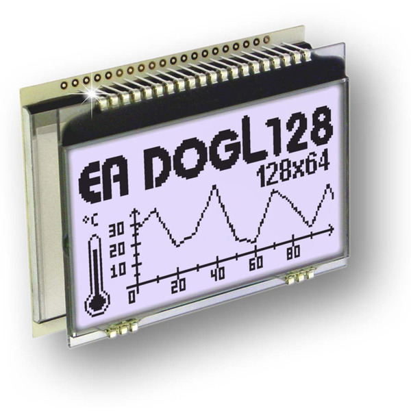 Electronic Assembly LCD-Grafikdisplay EA DOGL128W-6 128x64 Pixel