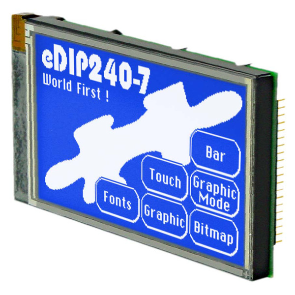 Electronic Assembly LCD-Bedieneinheit EA eDIP240B-7LW 240x128 Pixel