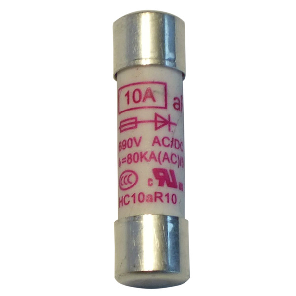 testboy Sicherung 10 A, flink, 10,2 x 39 mm, 1 Stück