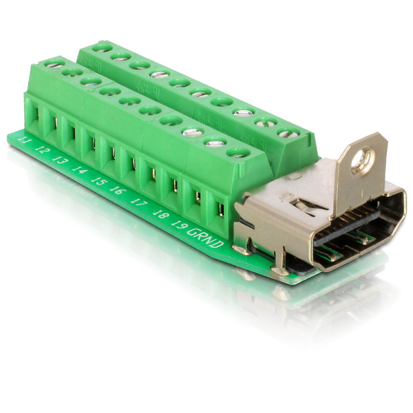 Delock Adapter Terminalblock > HDMI-Bu