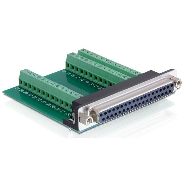 Delock Adapter Terminalblock > Sub-D 37Pin Buchse