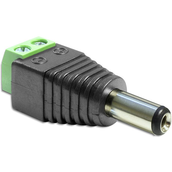 Delock Adapter Terminalblock > DC 5,5 mm Stecker