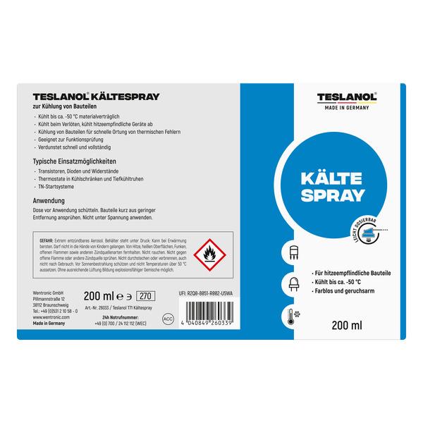 Teslanol Kältespray, 200 ml