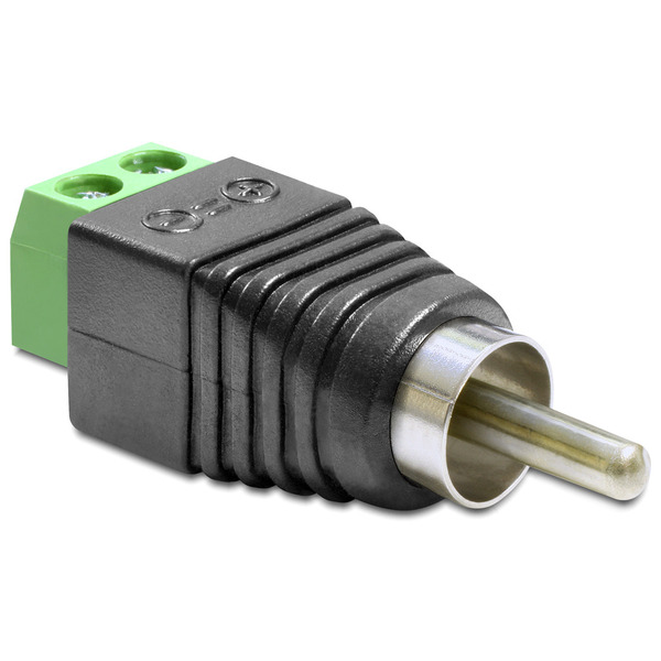 Delock Adapter Terminalblock > Cinch Stecker