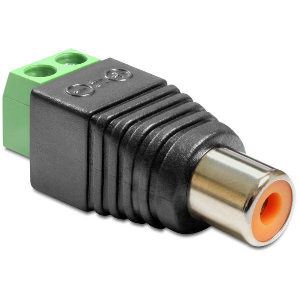 Delock Adapter Terminalblock > Cinch Buchse