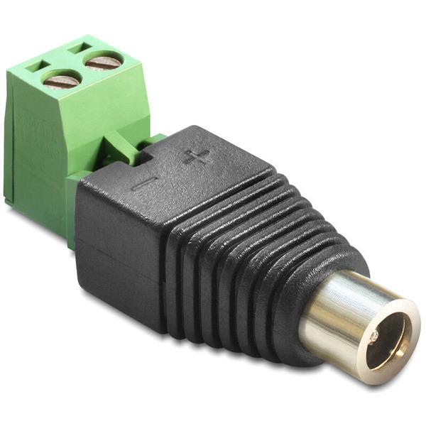 Delock Adapter Terminalblock > DC 2,1 x 5,5 mm Buchse 2-teilig