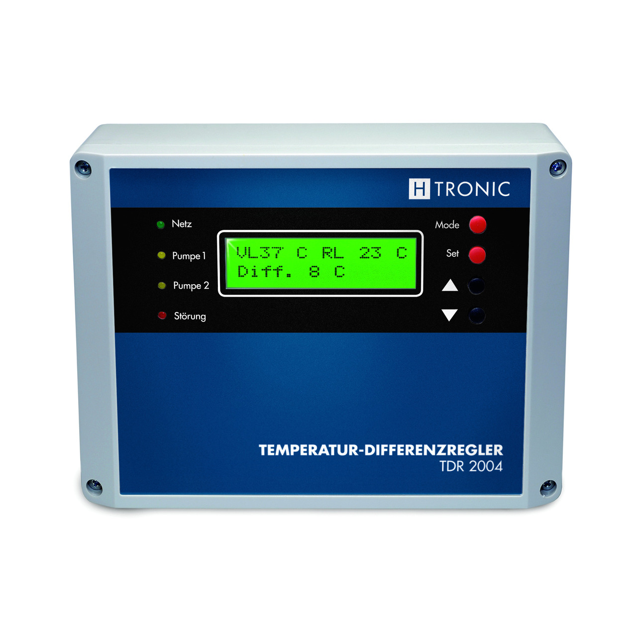 H-Tronic Solar-Temperatur-Differenzregler TDR 2004