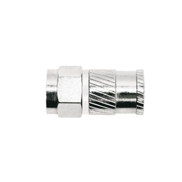 Axing CFS 93-51 Opti-Fix Self-Install-Compression-Stecker, für Dielektrikumdurchmesser 5,1 mm