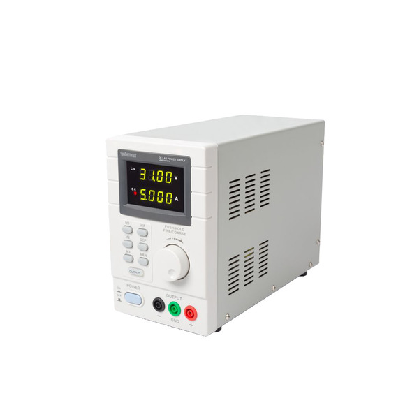 Velleman Programmierbares Labornetzgerät LABPS3005DN 0–30 V/5 A mit LED-Doppelanzeige